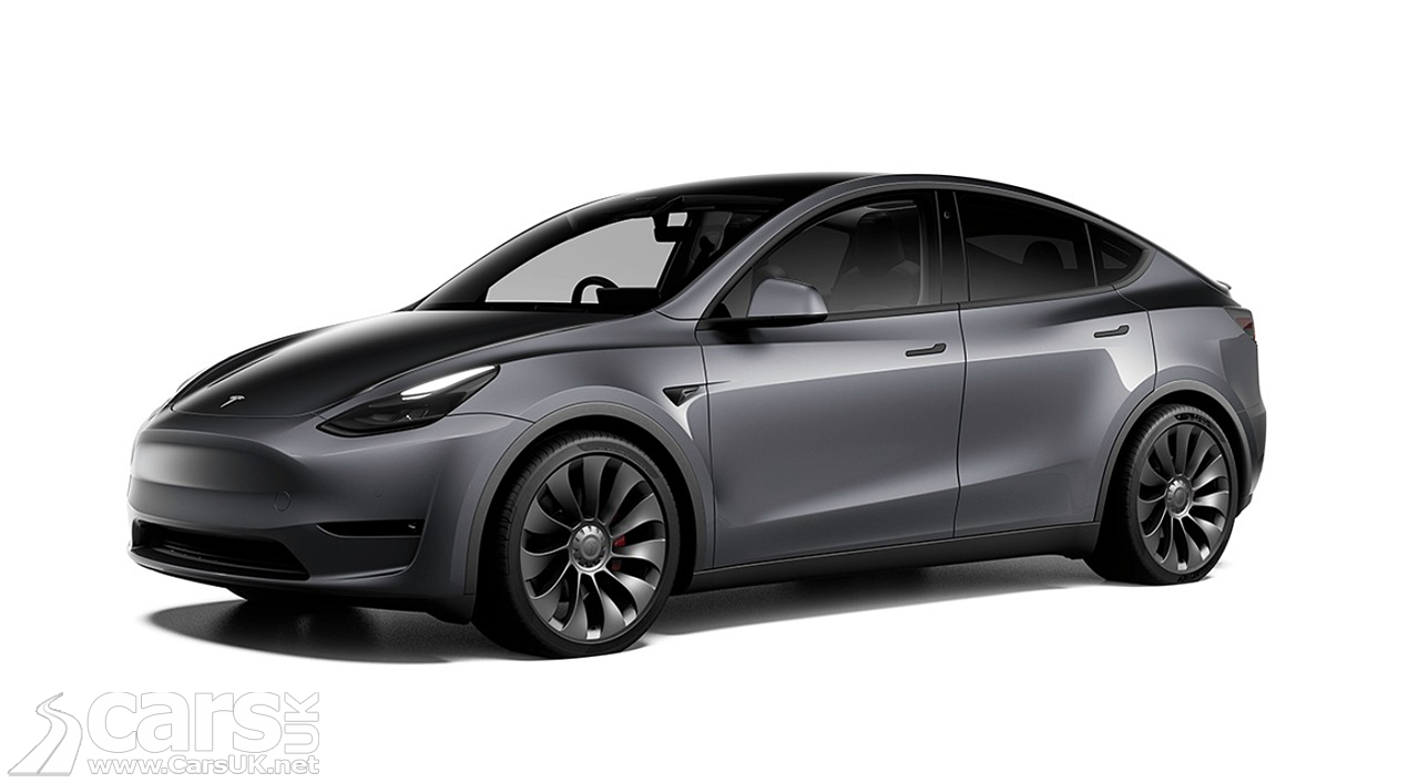 Tesla Model Y UK Spec