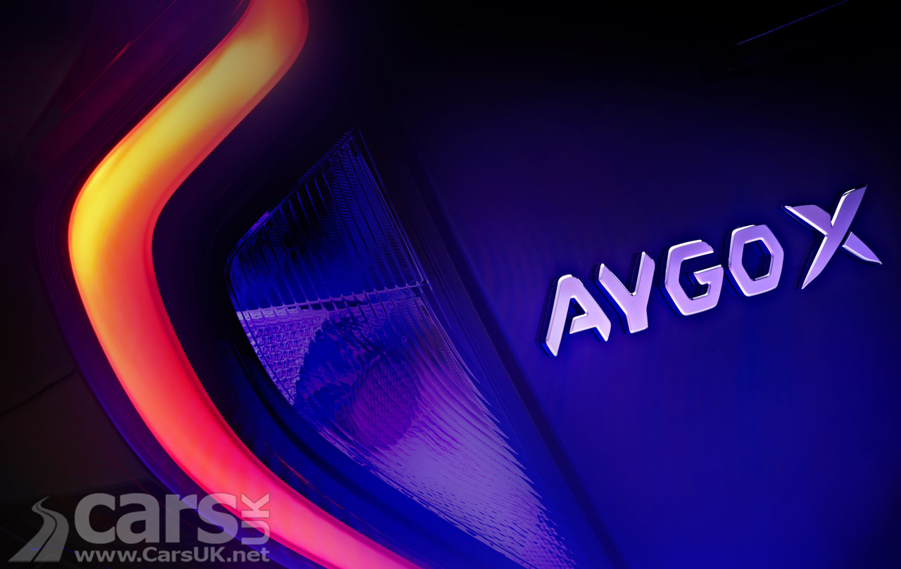 The Toyota Aygo X, a new Aygo Crossover, teased ahead of a November 2021 reveal